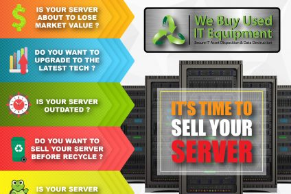 A Step by Step Guide on How to Sell Used Servers