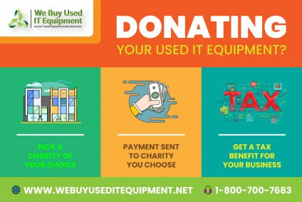 Donating Used IT Equipment to Charity