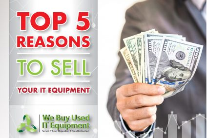 Top 5 Reasons to Sell Used IT Equipment