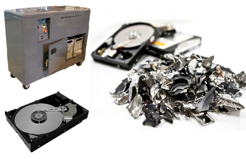 physical data destruction
