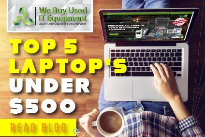 Top 5 Laptops Under $500 for 2021